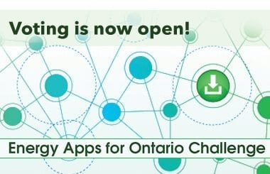 Voting is now open for the Energy Apps for Ontario Challenge!