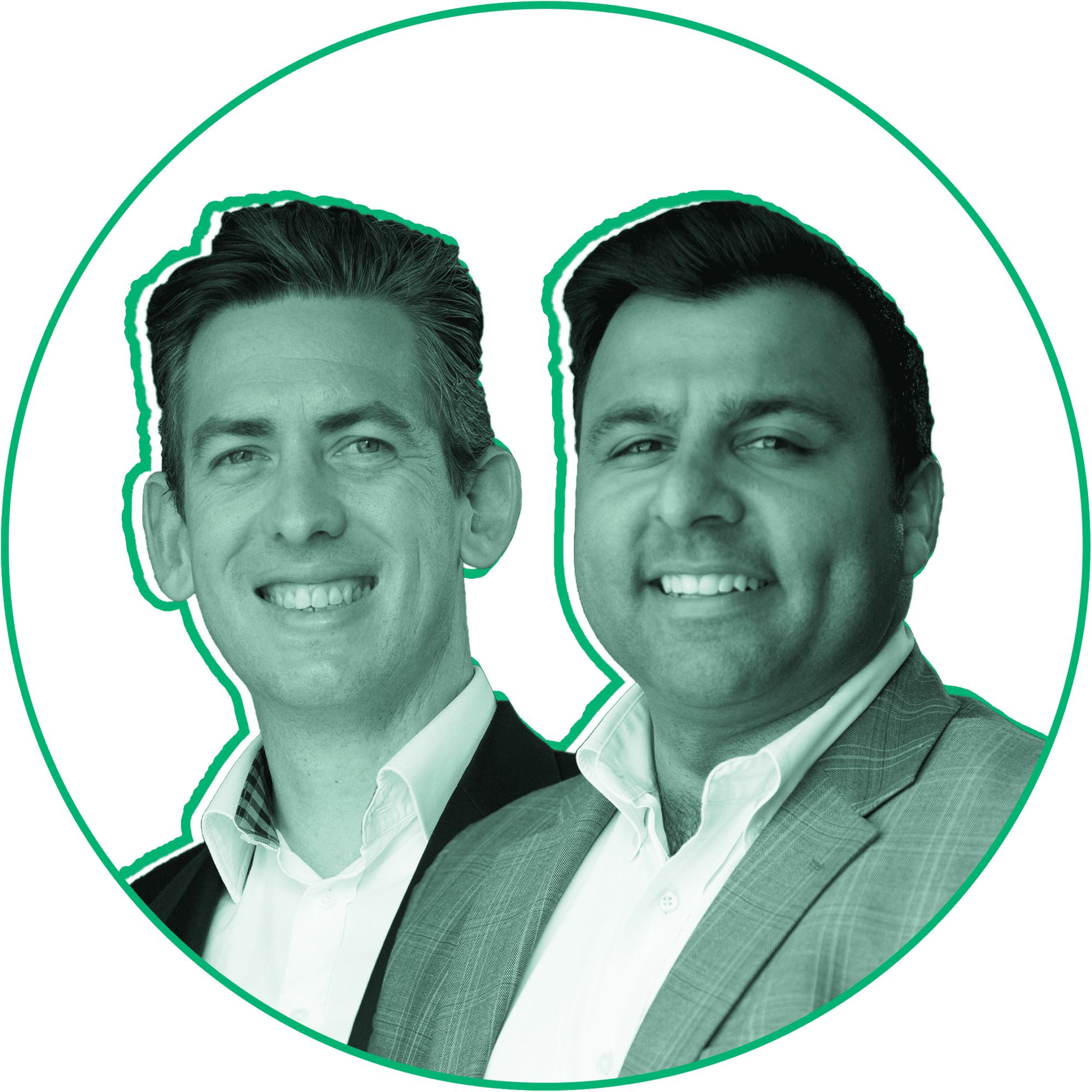 Tim Johnston and Ajay Kochhar