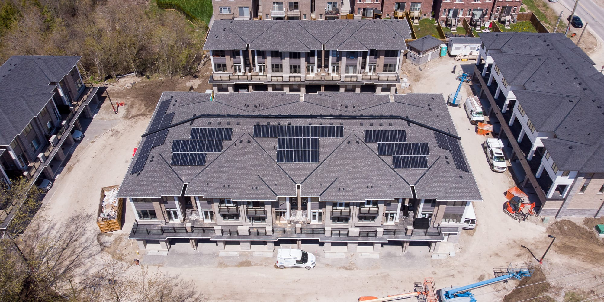 A new housing development in Pickering offers a glimpse into the future of green energy